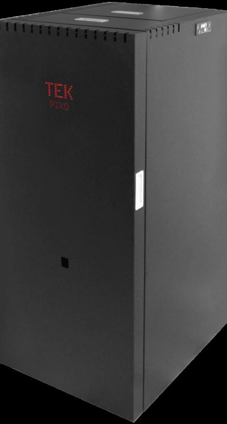Caldeira de aquecimento central compacta a pellets Piko da TEK Biomasse