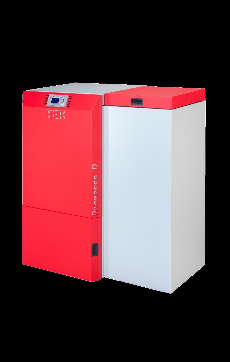 Caldeira de aquecimento a pellets, Biomasse P de cor vermelha