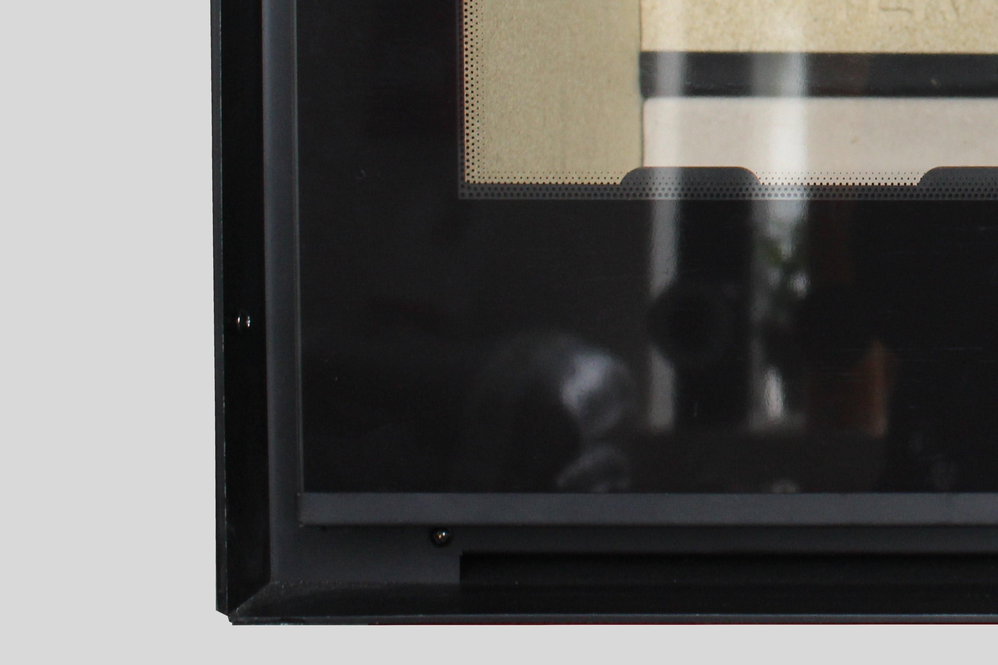 Pormenor da parte superior do recuperador de calor a lenha, Artek Vision.
