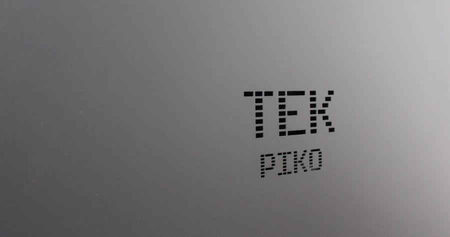 Pormenor de recorte TEK Piko na caldeira para instalações de aquecimento central