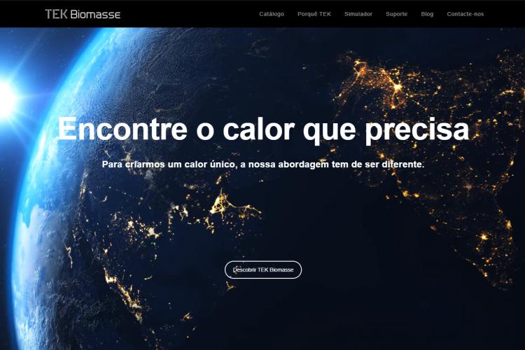 Biomassa em Portugal, marca TEK Biomasse